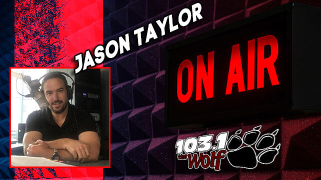 Jason Taylor – Weekday Afternoon from 3 – 7pm