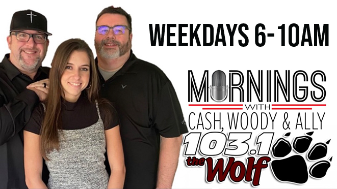 Mornings with Cash, Woody & Ally