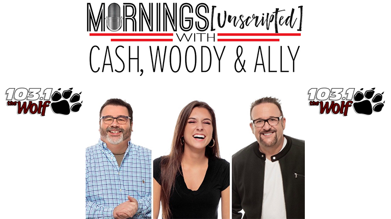 Mornings Unscripted with Cash, Woody & Ally Podcast