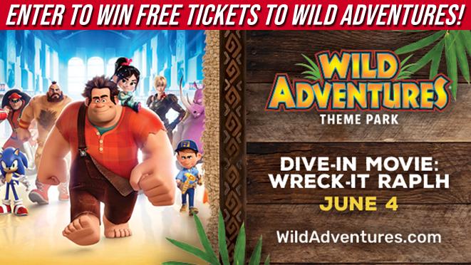 Wild Adventures Theme Park, WIN FREE TICKETS!